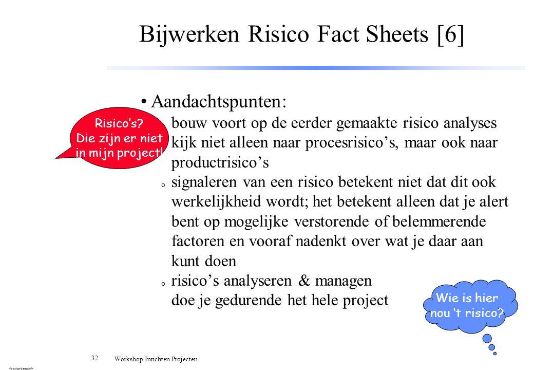 Bijwerken Risico Fact Sheets [6]